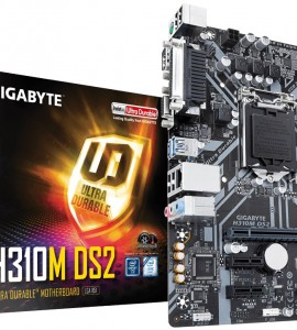 [New] Main Gigabyte H310M-DS2 (Chipset Intel H310/ Socket LGA1151/ VGA onboard)