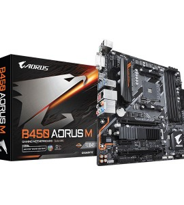 [New] Main Gigabyte B450 AORUS M (Chipset AMD B450/ Socket AM4/ VGA onboard)