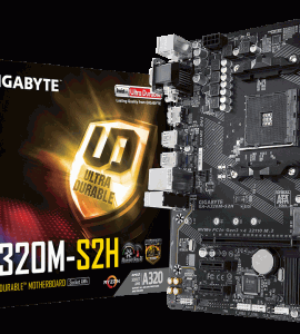 [New] Main Gigabyte GA-A320M-S2H (Chipset AMD A320/ Socket AM4/ VGA onboard)